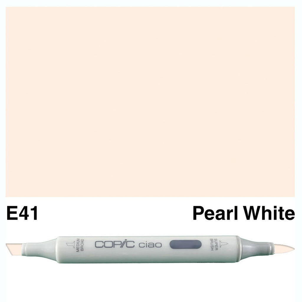 Copic Ciao Marker - E41 - Pearl White