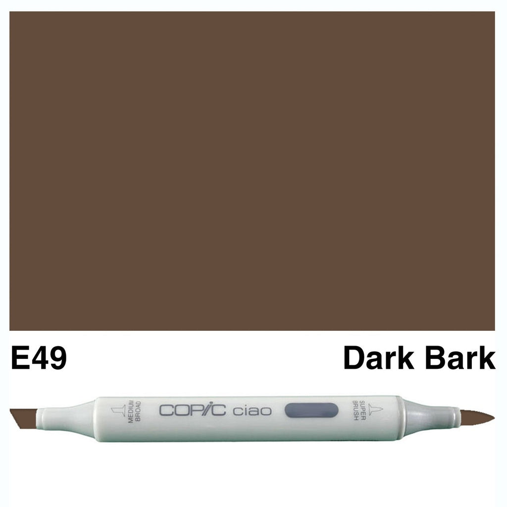 Copic Ciao Marker - E49 - Dark Bark