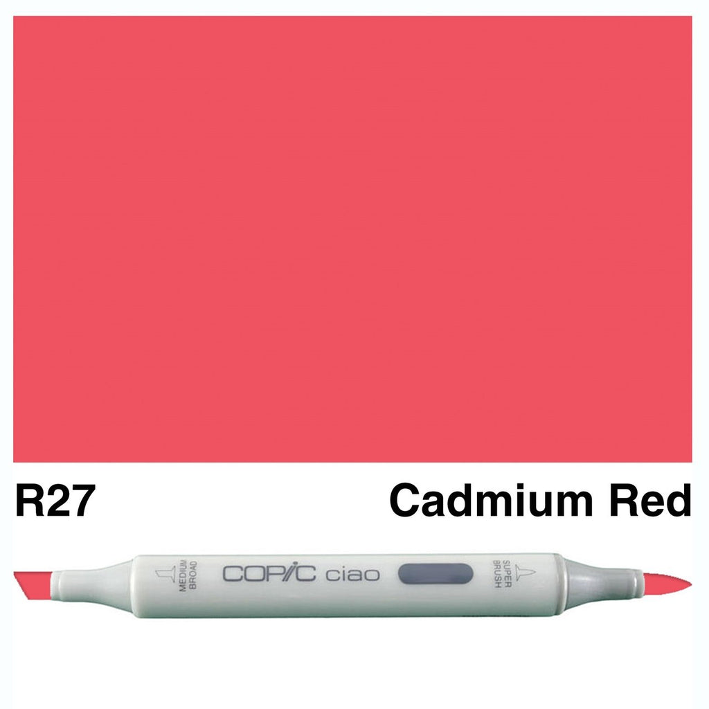 Copic Ciao Marker - R27 - Cadmium Red