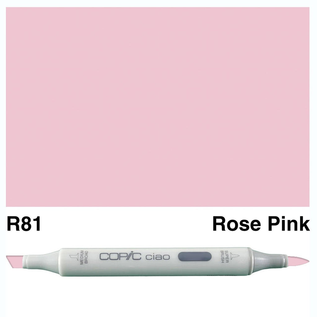 Copic Ciao Marker Pen -  R81-Rose Pink