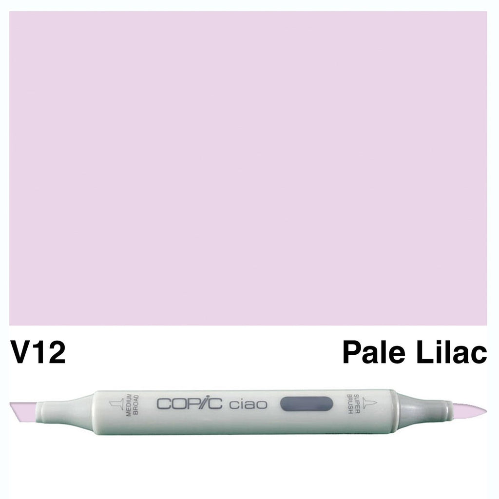 Copic Ciao Marker - V12 - Pale Lilac