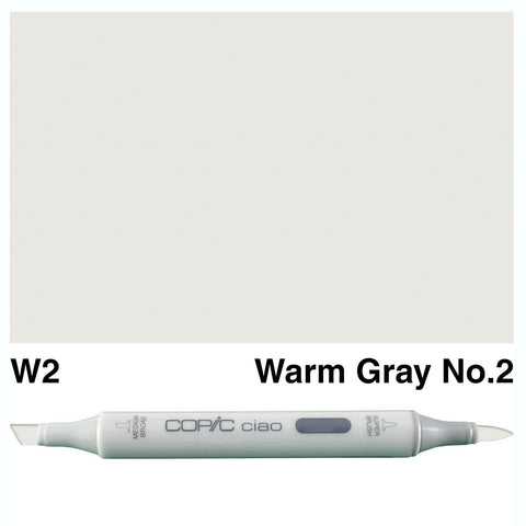 Copic Ciao Marker - W2 - Warm Gray No 2
