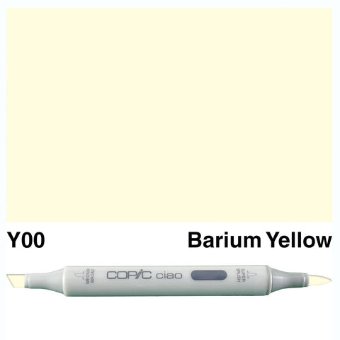 Copic Ciao Marker - Y00 - Barium Yellow
