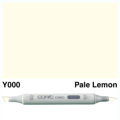 Copic Ciao Marker - Y000 - Pale Lemon