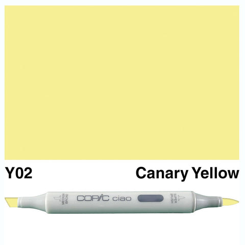 Copic Ciao Marker - Y02 - Canary Yellow
