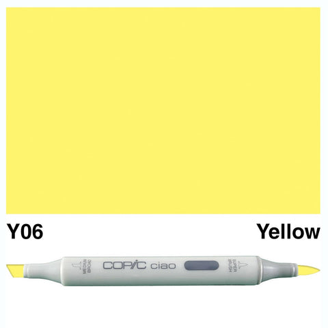 Copic Ciao Marker - Y06 - Yellow