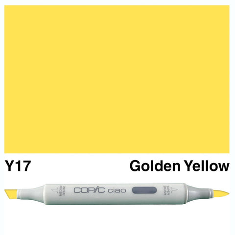 Copic Ciao Marker - Y17 - Golden Yellow