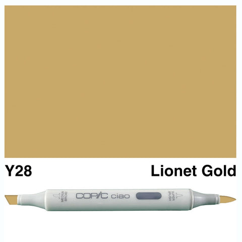 Copic Ciao Marker - Y28 - Lionet Gold