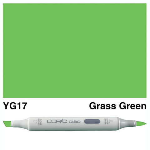 Copic Ciao Marker - YG17 - Grass Green