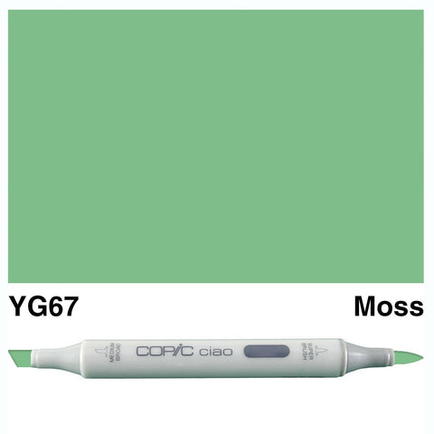 Copic Ciao Marker - YG67 - Moss