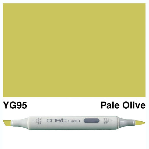 Copic Ciao Marker - YG95 - Pale Olive