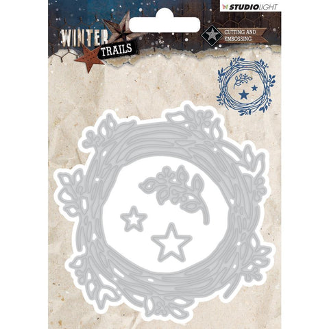 Studio Light Winter Trails Cutting & Embossing Die - Wreath