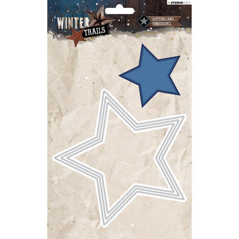 Studio Light Winter Trails Cutting & Embossing Die - Stars