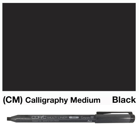 Copic Multiliner - Calligraphy Black CM