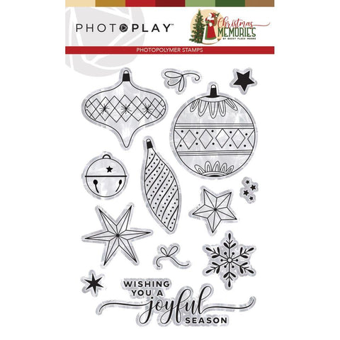 PhotoPlay Photopolymer Stamp - Elements, Christmas Memories