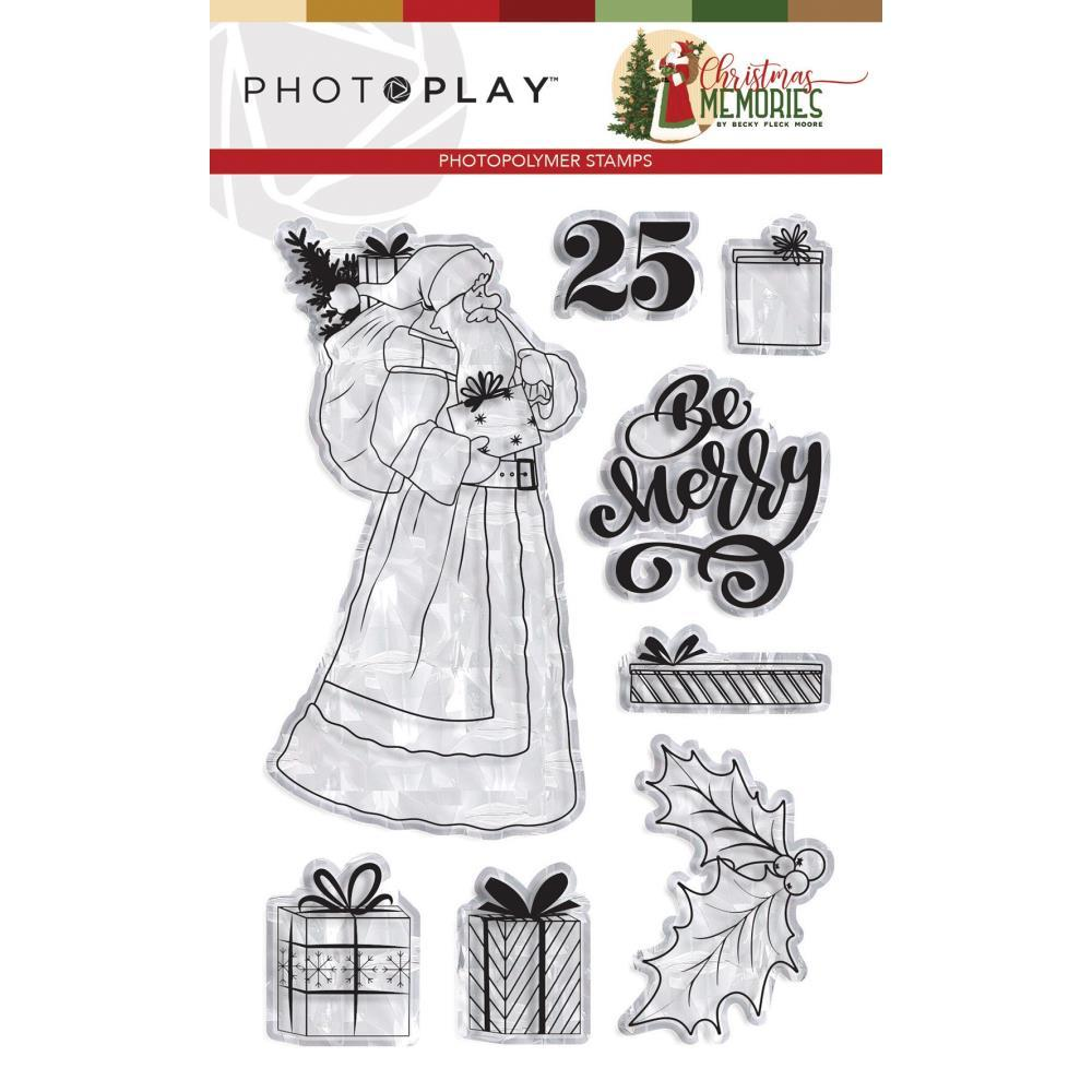 PhotoPlay Photopolymer Stamp - Santa, Christmas Memories