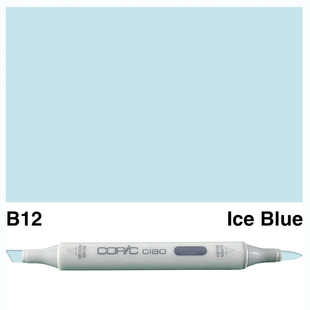 Copic Ciao Marker - B12 - Ice Blue