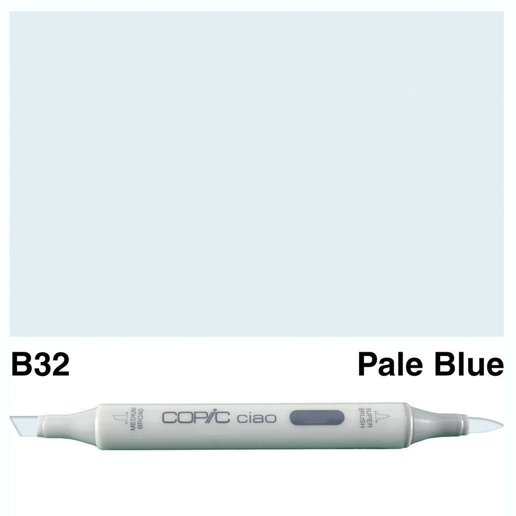 Copic Ciao Marker Pen - B32 - Pale Blue