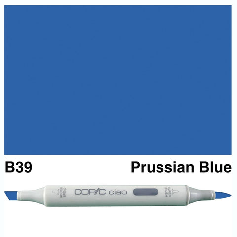 Copic Ciao Marker - B39 - Prussian Blue