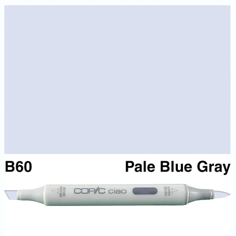 Copic Ciao Marker - B60 - Pale Blue Grey