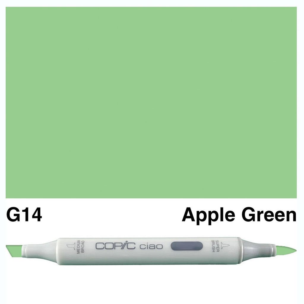 Copic Ciao Marker Pen - G14 - Apple Green