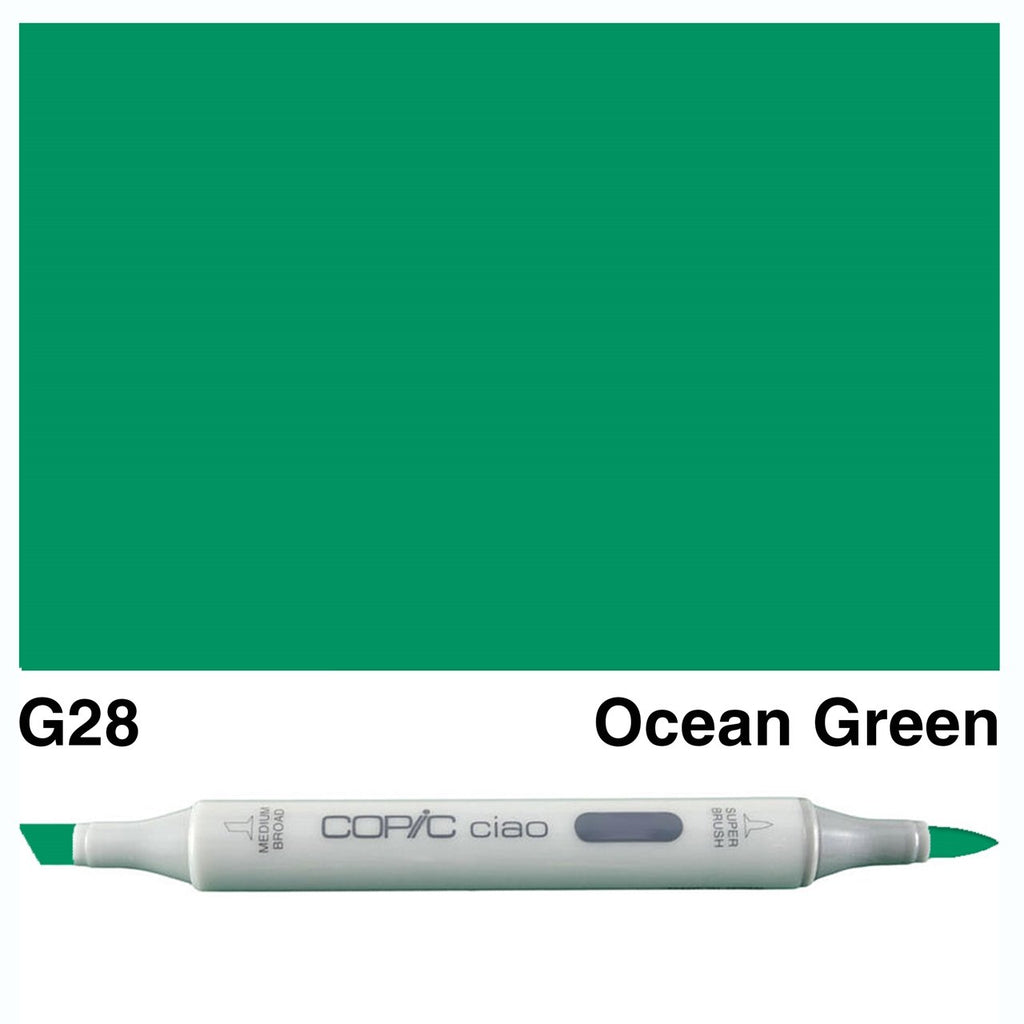 Copic Ciao Marker Pen - G28 - Ocean Green