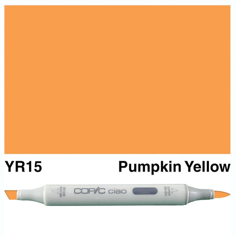 Copic Ciao Marker - YR15 - Pumpkin Yellow