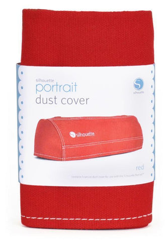 Silhouette Portrait - Dust Cover - Red