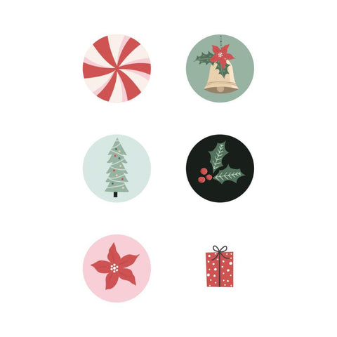 Kaisercraft - Peppermint Kisses Curios 6pk