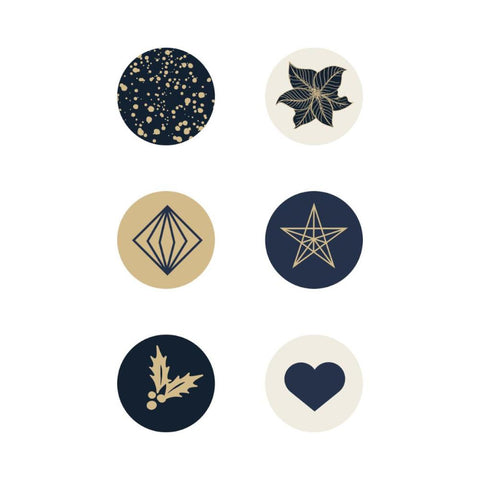Kaisercraft - Starry Night Curios 6pk