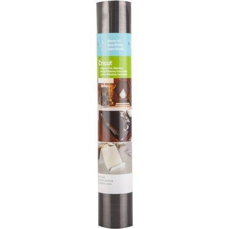 Cricut Adhesive Foil 12inch X48inch Stainless Dark Silver