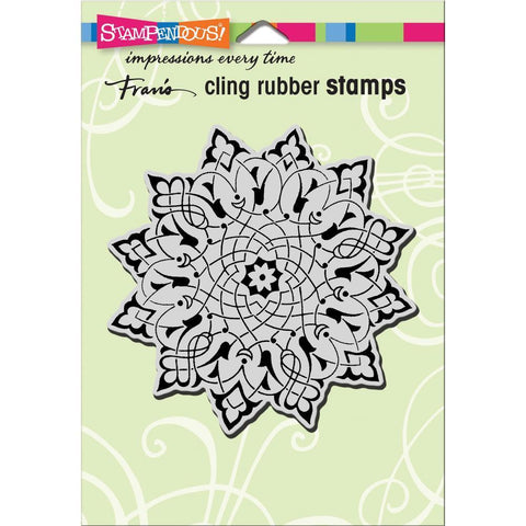 Stampendous Cling Stamp - Arabesque