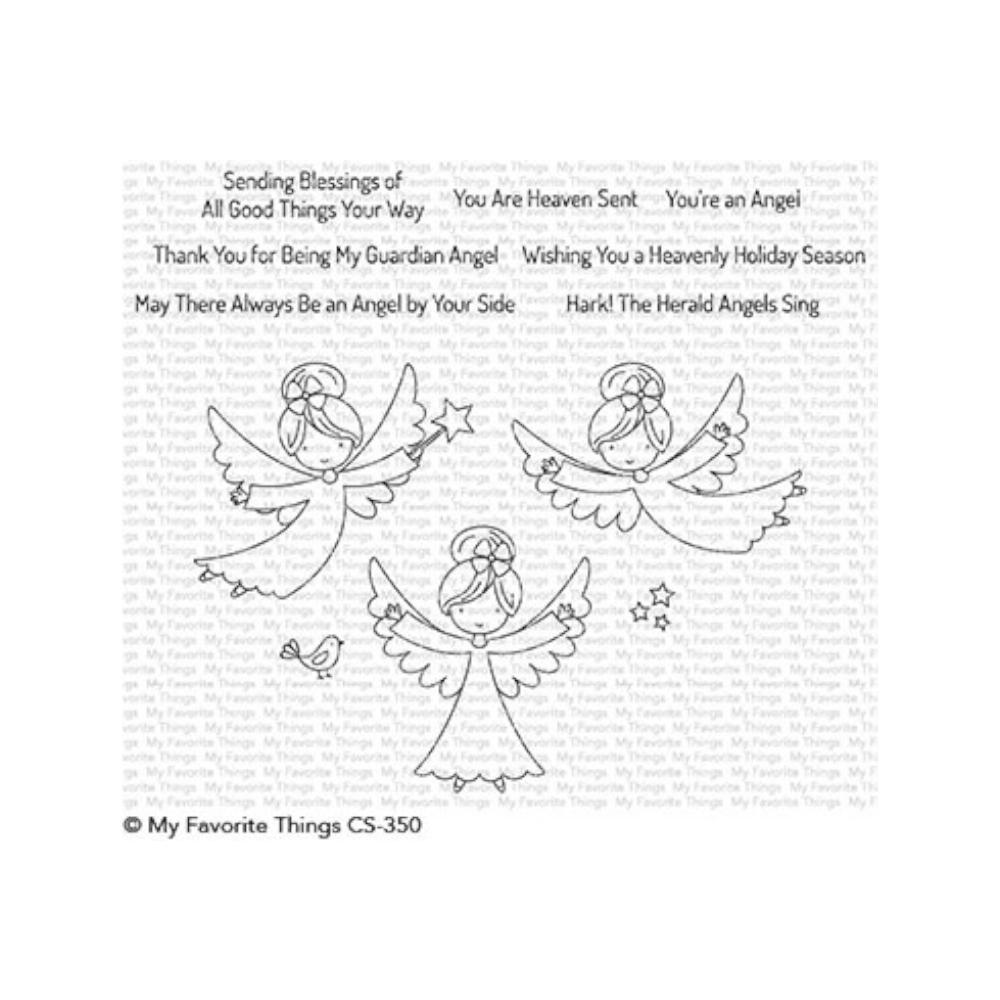 My Favorite Things Stamp Set - Little Angels