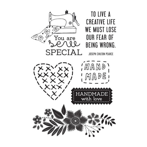 Kasiercraft - Clear Stamp 6inX4in - Crafternoon