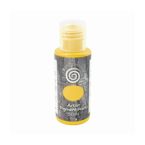 Cosmic Shimmer Andy Skinner Artist Pigment Paint Primary 50ml - Yellow