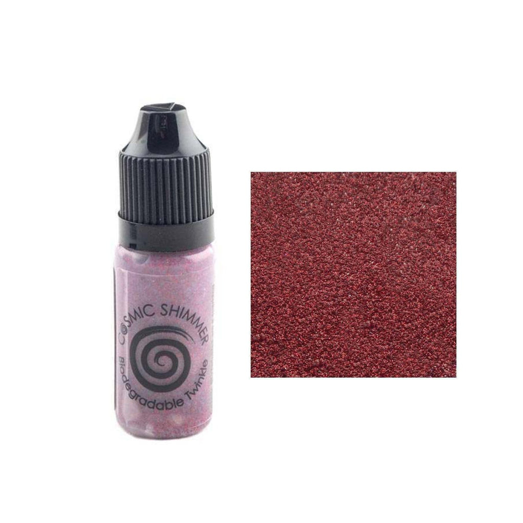 Creative Expressions - Cosmic Shimmer Biodegradable Twinkles Ruby Slippers 10ml
