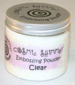 Cosmic Shimmer Embossing Powder - Clear 200ml