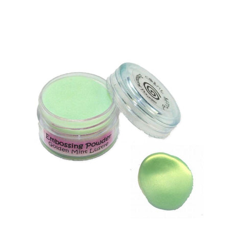 Cosmic Shimmer Embossing Powder - Golden Mint
