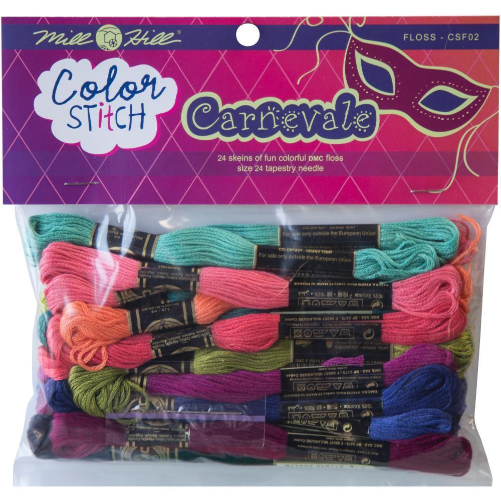 Mill Hill Colour Stitch Floss Starter Pack 24 pack Carnevale