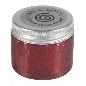 Cosmic Shimmer Sparkle Texture Paste - Berry Red