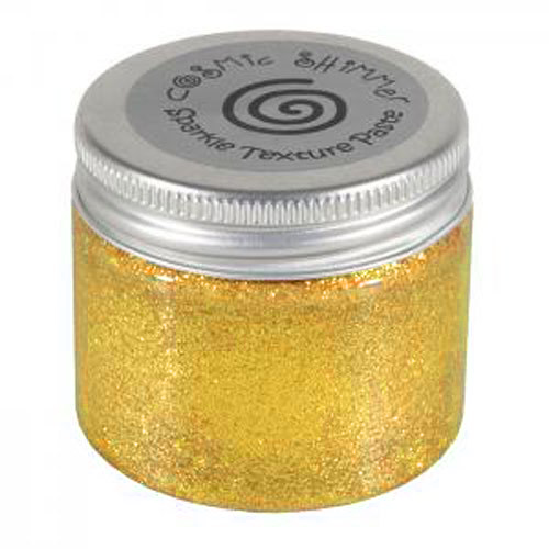 Phill Martin Cosmic Shimmer Sparkle Texture Paste - Bright Sunshine