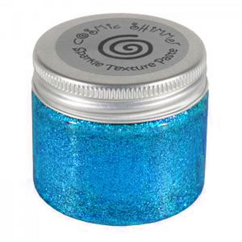 Phill Martin Cosmic Shimmer Sparkle Texture Paste - Electric Blue