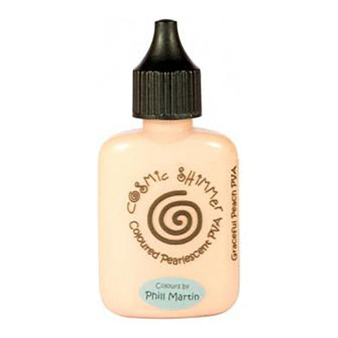 Phill Martin Cosmic Shimmer Glue - Graceful Peach