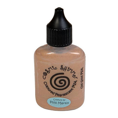 Phill Martin Cosmic Shimmer Glue - Old Gold