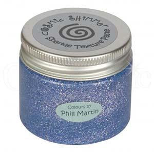 Phill Martin Cosmic Shimmer Sparkle Texture Paste - Graceful Lilac