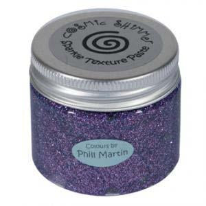 Phill Martin Cosmic Shimmer Sparkle Texture Paste - Chic Aubergine