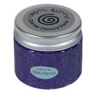 Phill Martin Cosmic Shimmer Sparkle Texture Paste - Decadent Grape