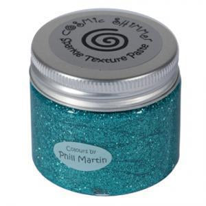 Phill Martin Cosmic Shimmer Sparkle Texture Paste - Decadent Teal