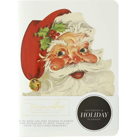 Teresa Collins Notebook & Holiday Planner 6in x 8in - Christmas Story