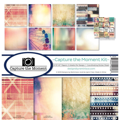 Reminisce Collection Kit 12x12 inch - Capture The Moment